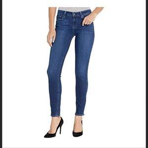 Paige Medium Wash Verdugo Ankle Jeans Size 27